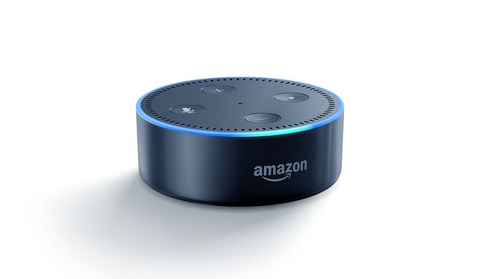 The Amazon Echo has taken voice recognition into people's living rooms (Credit: Amazon)