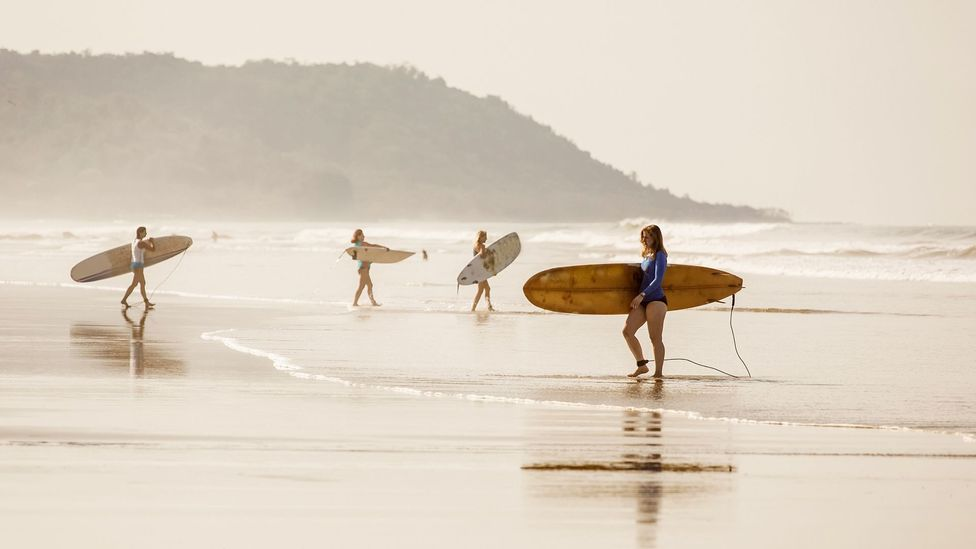 Expats are drawn to Costa Rica's beaches where they can surf and swim (Credit: Andria Patino/Getty Images)