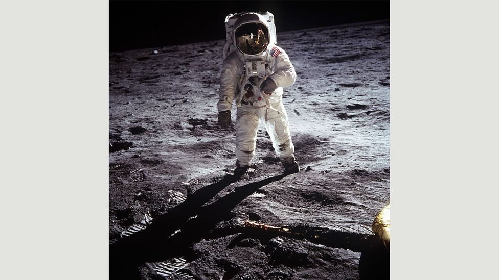 Photographs that have led to conspiracy theories include those of the moon landings and Mars (Credit: Alamy)