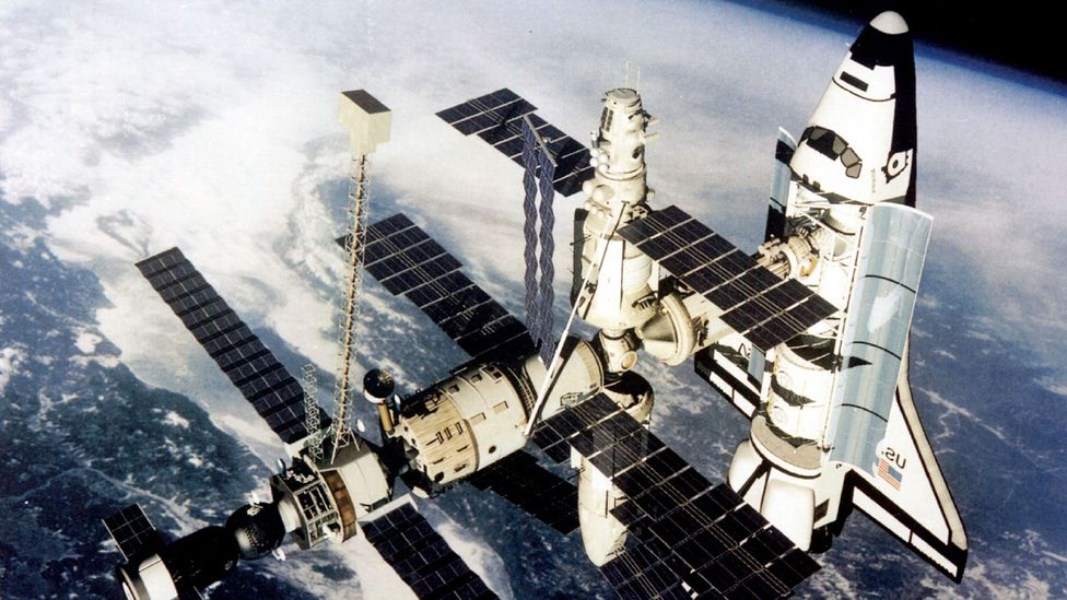 Cosmonauts onboard the Russian Mir Space Station were apparently allowed small amounts of cognac (Credit: Getty Images)