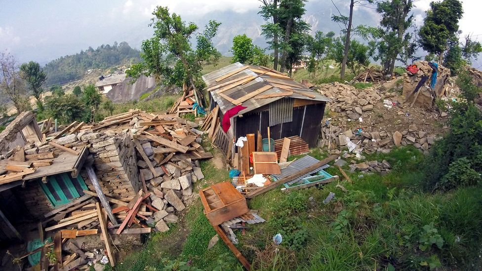 The earthquake that struck Nepal in 2015 pushed around 700,000 Nepalis into poverty (Credit: Amrit Sharma)