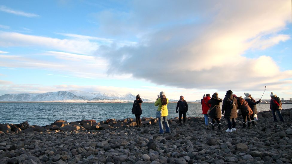 Iceland has a population of just over 330,000 – last year, around 1.7 million people came to visit (Credit: Chris Baraniuk)
