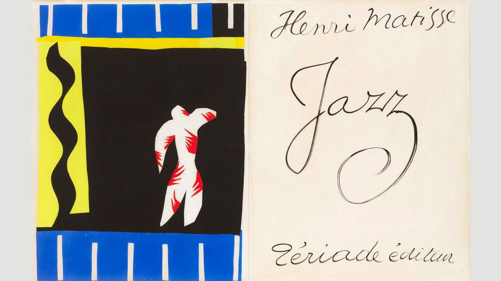 Henri Matisse produced an entire volume of his famous cutouts, accompanied by his own poetic, written thoughts, dedicated to jazz in 1947 (Credit: Christie's)