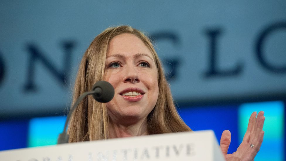 Chelsea Clinton and the Clinton Foundation are working on ways to tackle the growth of opioid addiction (Credit: Getty Images)