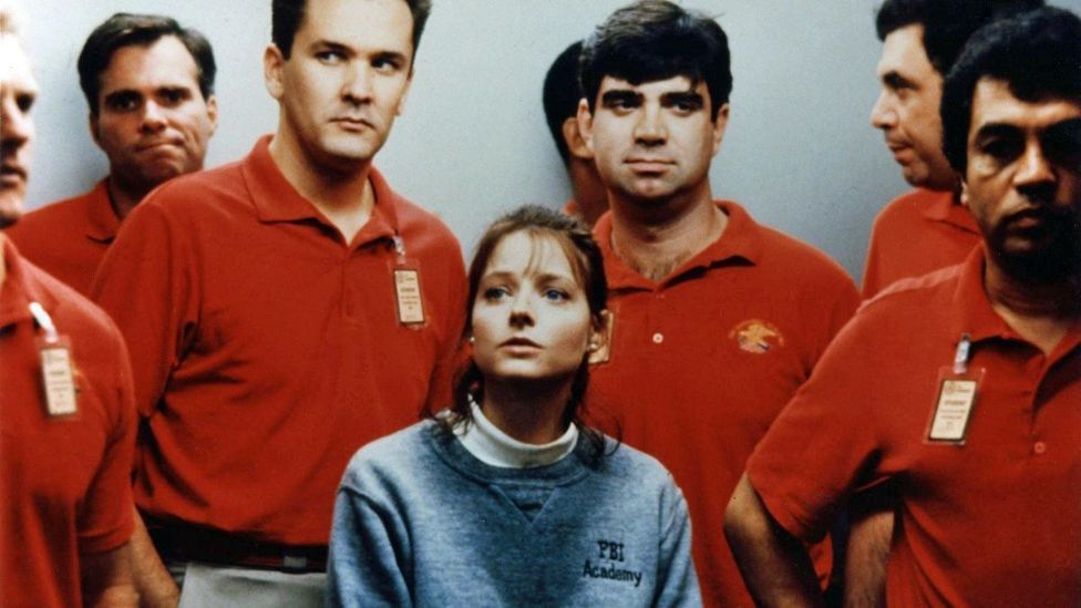Demme makes it clear how isolated Clarice is in the male-dominated world of the FBI, a sense of loneliness which makes viewers identify with her all the more (Credit: MGM)