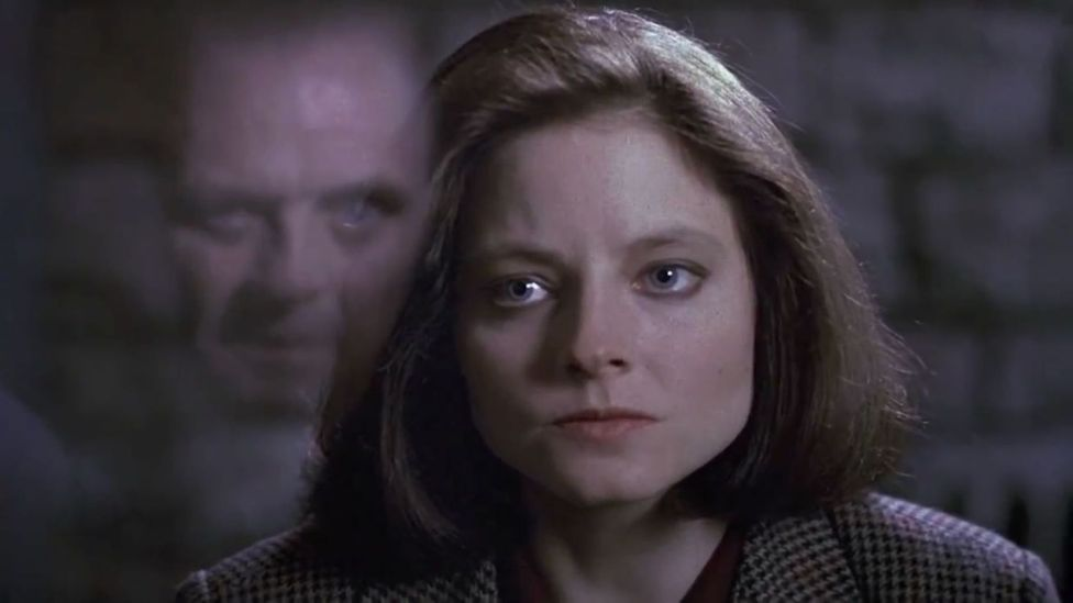 Most of the characters in The Silence of the Lambs stare at Clarice Starling at one point or another – the film is very much a commentary on the 'male gaze' (Credit: MGM)