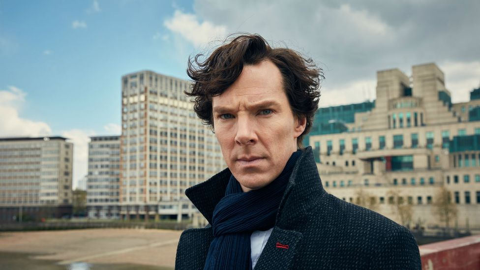 The mixture of intelligence and madness that defined Lecter has inspired many copycat villains, and even heroes like Benedict Cumberbatch's Sherlock (Credit: BBC/PBS)