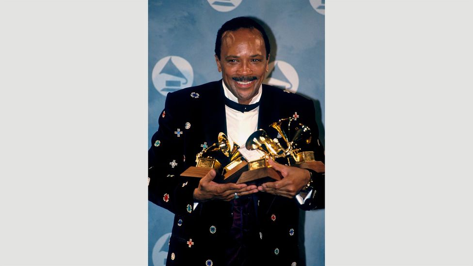 Musical polymath Quincy Jones, who produced Thriller and has won 27 Grammys and 79 nominations among many other achievements, studied under Boulanger in the 1950s (Credit: Alamy)