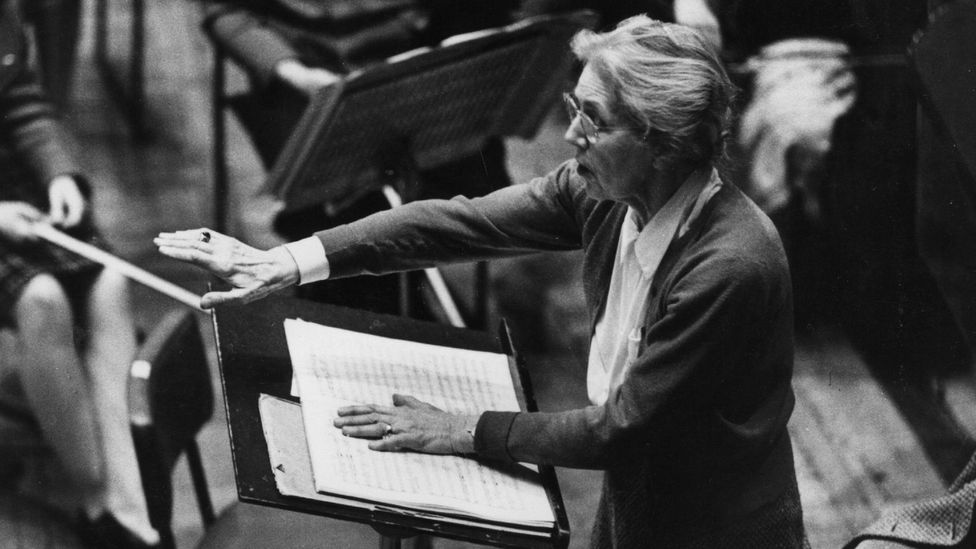 Boulanger was the first woman to conduct the New York Philharmonic and Boston Symphony orchestras (Credit: Getty Images)