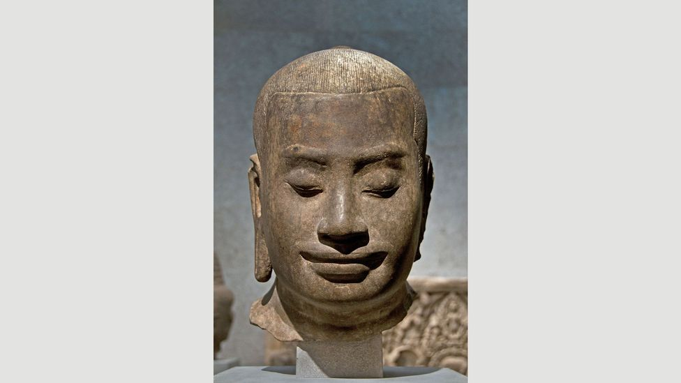 Jayavarman VII was the ruler of the Khmer Empire from 1181 to 1218 and is widely regarded as its most powerful leader – he oversaw the completion of the temple (Credit: Alamy)