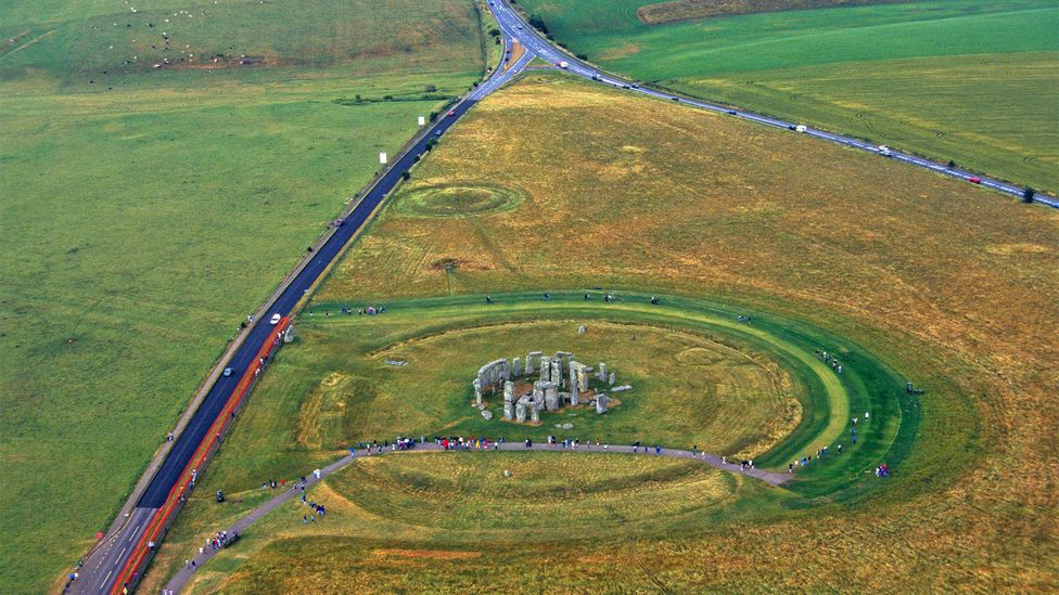 The tunnel would re-route the A303 underground to the south of the stones (Credit: Alamy)
