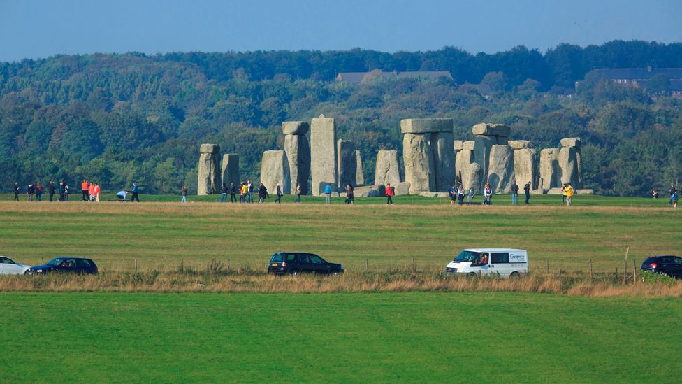 The A303 runs past Stonehenge, but this may be about to change (Credit: National Trust)