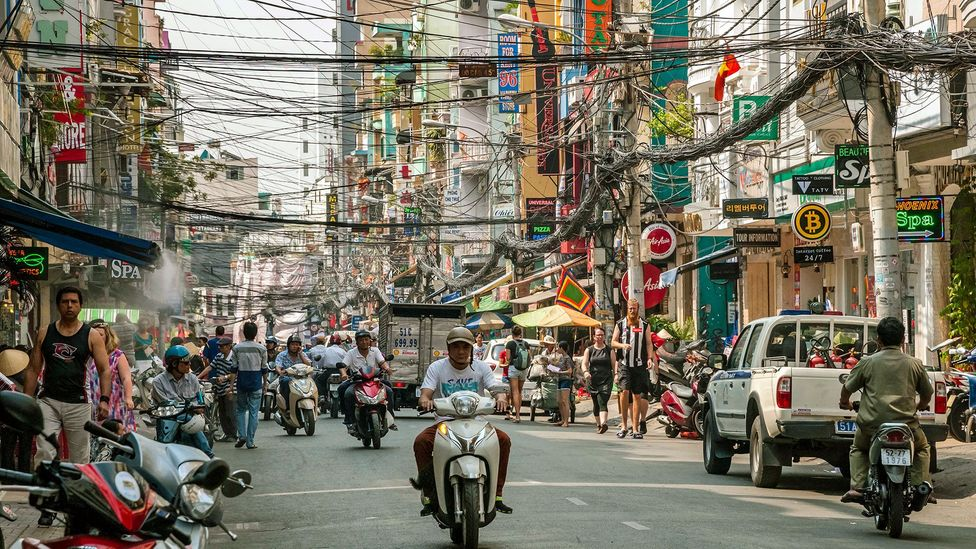 Tourists sometimes avoid Hồ Chí Minh City because of its packed streets and crowds (Credit: John Davidson Photos/Alamy)