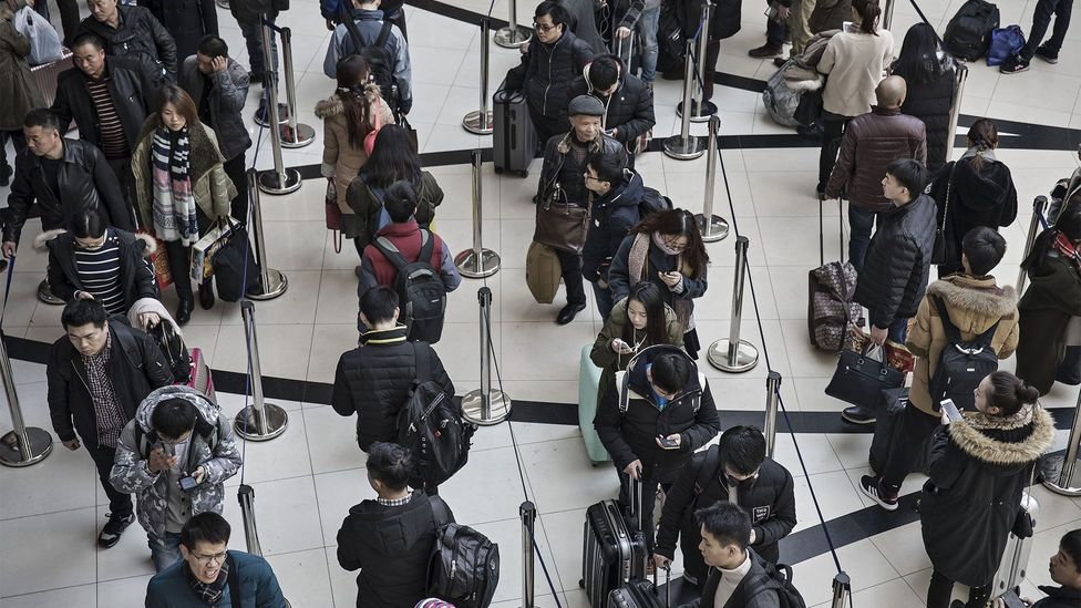 Although there may be variation in queuing behaviours between cultures, the differences are not nearly as pronounced as the stereotype would suggest (Credit: Getty Images)