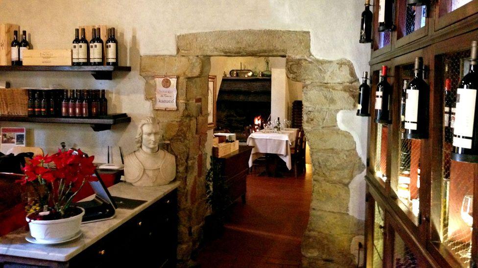 L'Albergaccio still retains its medieval ambiance (Credit: Silvia Marchetti)