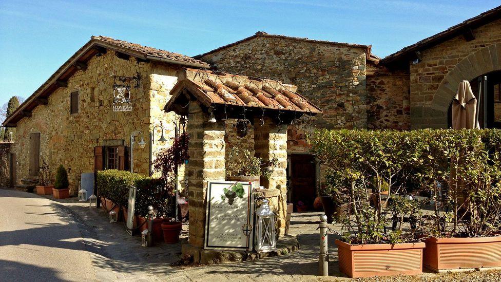 Machiavelli wrote the controversial political treaty, The Prince, at L'Albergaccio (Credit: Silvia Marchetti)