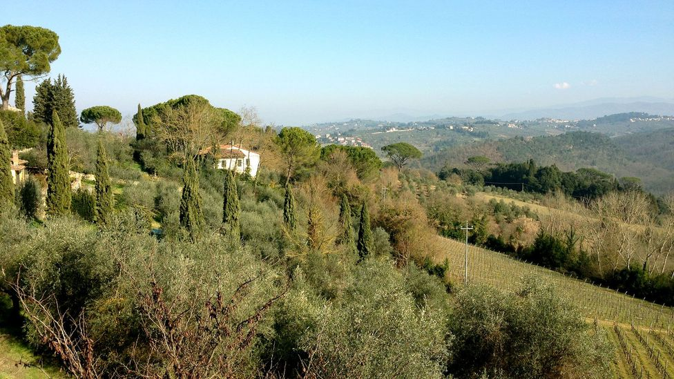 Machiavelli was exiled to a tiny hamlet perched on the hills of San Casciano (Credit: Silvia Marchetti)