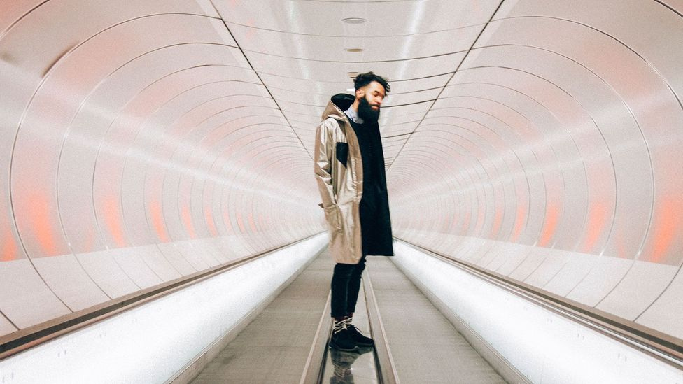 The Dutch design duo Project KOVR has designed the Anti-Surveillance Coat, cut from metallic fabric to protect our personal information (Credit: Project KOVR)