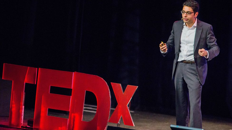 The popularity of TED talks has led people to expect more from public speakers, Bustin says (Credit: Alamy)