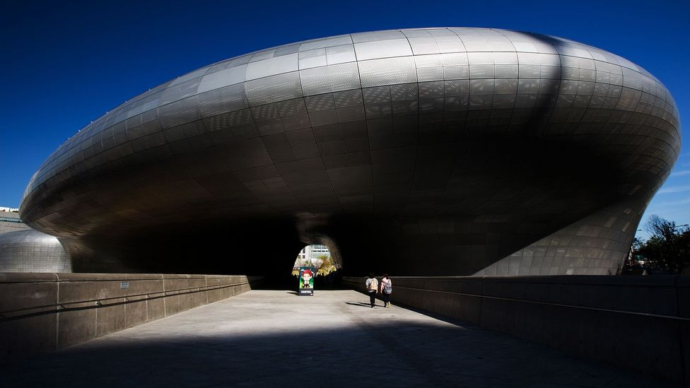 The Dongdaemun Design Plaza is an architectural landmark in the north of the city (Credit: Getty Images)