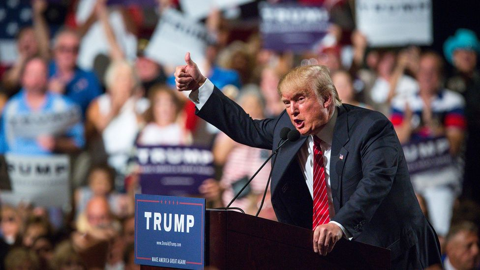 New world leaders like Donald Trump have benefited from the global rise of populist and nationalist sentiment (Credit: Getty Images)