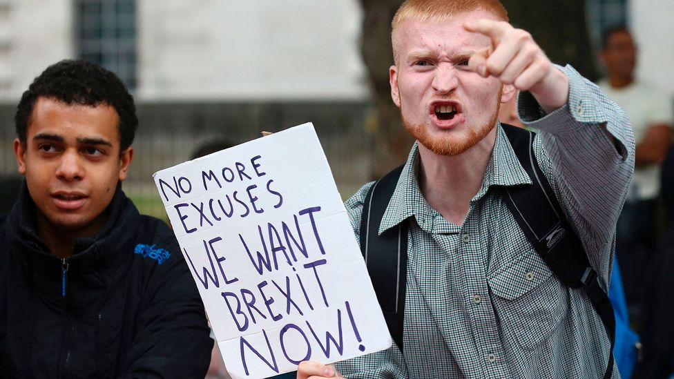 Recent major events like Brexit have prompted re-examination of democracy's future and its place in the world (Credit: Getty Images)