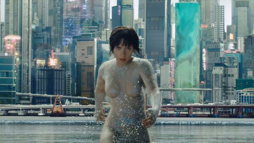 Ghost in the Shell (Credit: Dreamworks)