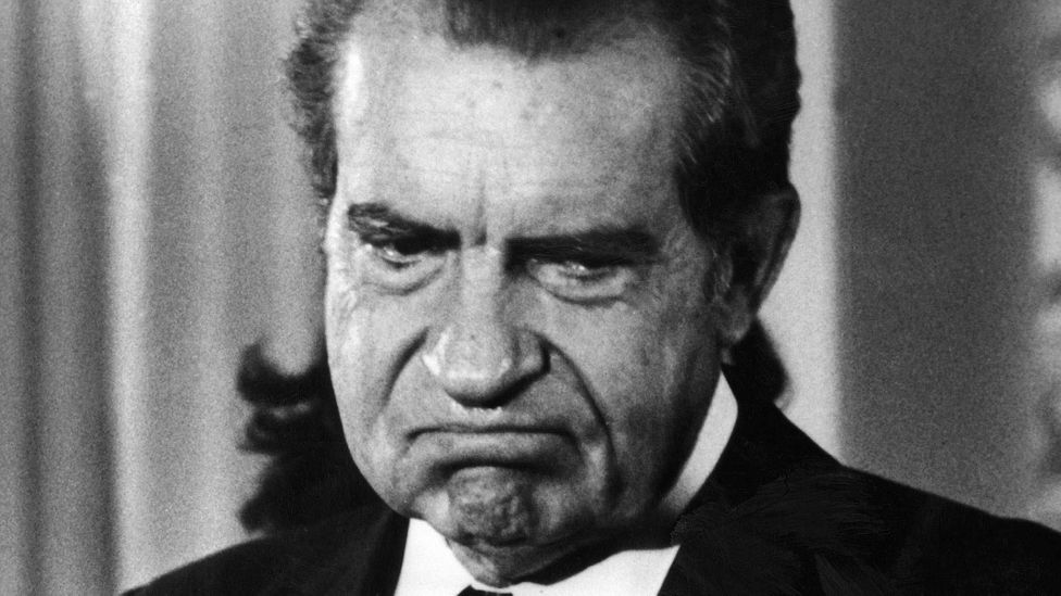 Richard Nixon was well-known for his list of foes (Credit: Getty Images)
