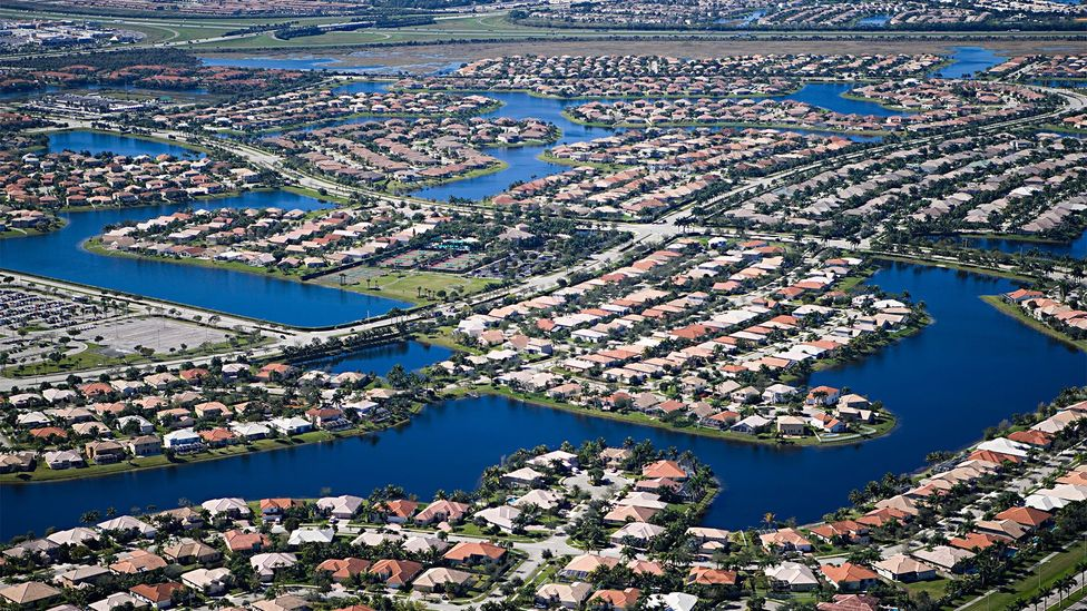 Fort Lauderdale's canals make some of its neighbourhoods especially vulnerable (Credit: Alamy)