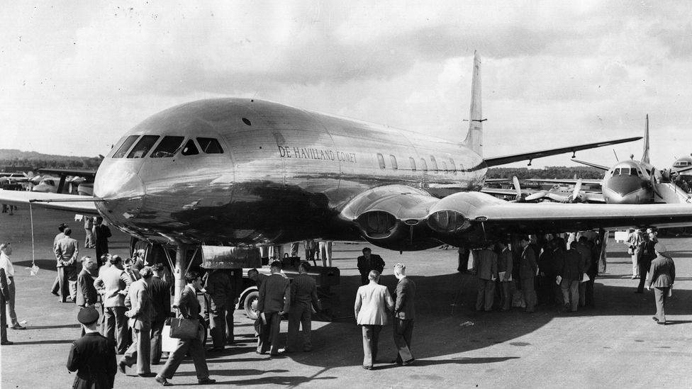 The Comet never regained its foothold in the airliner market - but modified version continued flying until 1997 (Credit: Getty Images)