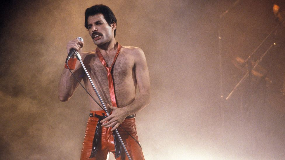 Freddie Mercury, the legendary lead singer of Queen, drew inspiration from the Zoroastrian faith of his Persian family (Credit: Alamy)