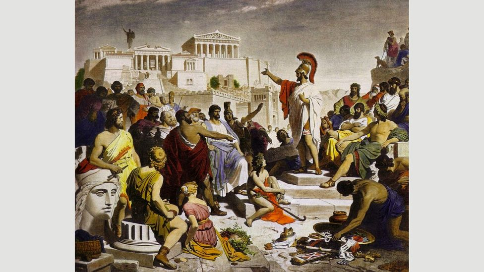 Pericles was Athens' longest-serving democratic leader and he emphasised the connection between the arts and politics and the importance of civic engagement (Credit: Wikipedia)