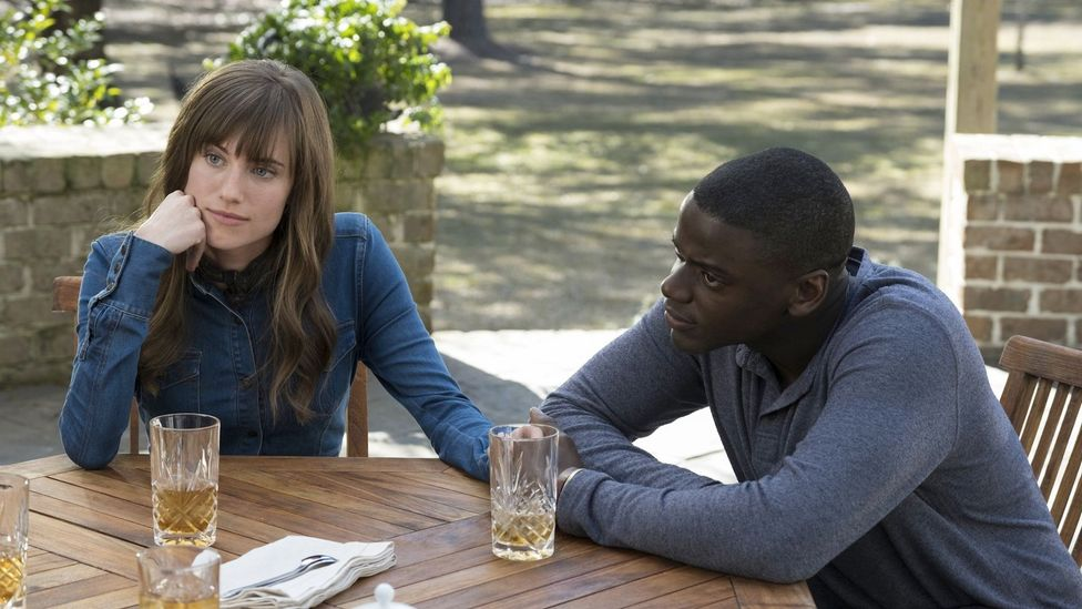 US viewers resented Williams for being the daughter of a prominent newsreader – in Get Out, she plays up to the ideas of privilege and nepotism attached to her (Credit: Universal)