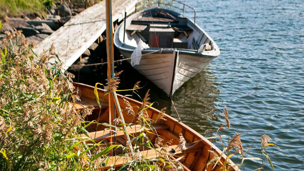 The geography of the Kvarken Archipelago resulted in a community of expert boat builders (Credit: Jim O'Donnell)