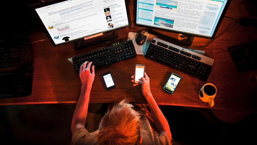 Social media addiction is 'worse than alcohol or drug abuse because it's much more engaging and there's no stigma behind it' (Credit: Getty Images)