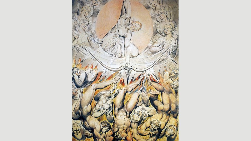 William Blake, who called Milton 'a true Poet', produced several sets of illustrations for Paradise Lost in the early 19th Century (Credit: Alamy)
