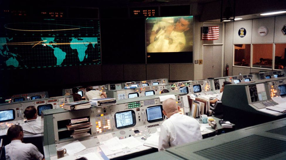 The mission control team worked around the clock to bring the fragile module back home (Credit: Nasa)
