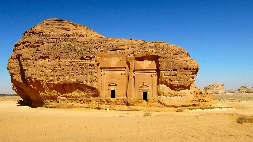 Madain Saleh was the second largest Nabatean city after Petra (Credit: Marjory Woodfield)
