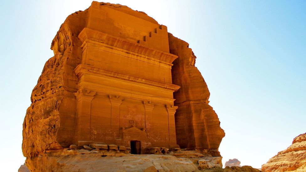 Many Muslims will not come to Madain Saleh because they believe it is cursed (Credit: Marjory Woodfield)