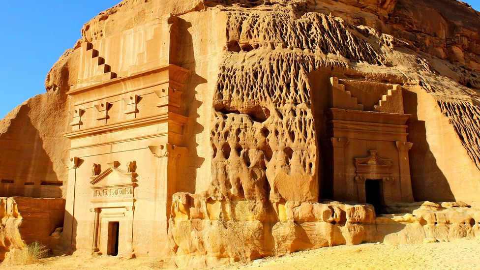 Large portions of Madain Saleh have yet to be excavated (Credit: Marjory Woodfield)