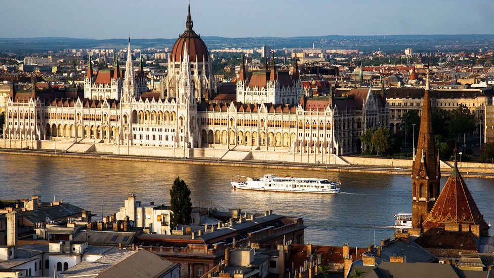 Medical facilities were built under Budapest's Buda district during World War II (Credit: Eye Ubiquitous/Getty)