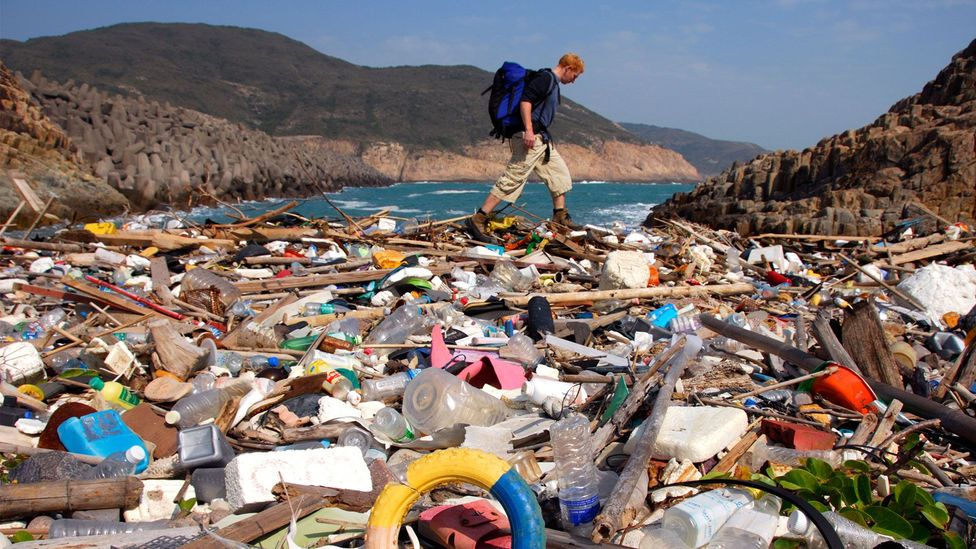 Hong Kong's beaches may be deluged with waste from across Asia (Credit: Alamy)