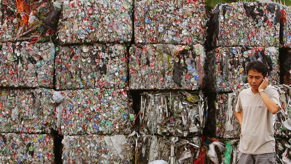 Without new recycling plants, Hong Kong will struggle to cope with the rising tide of waste coming from its citizens and tourists (Credit: Alamy)