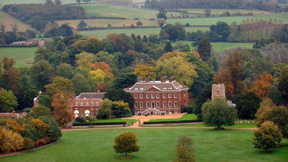 Initial plans to route the HS2 line through the grounds of Edgcote House, shown here, later were changed (Credit: Alamy)