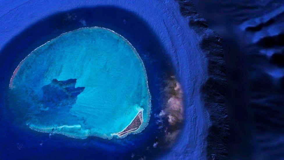 Hawaii, atoll