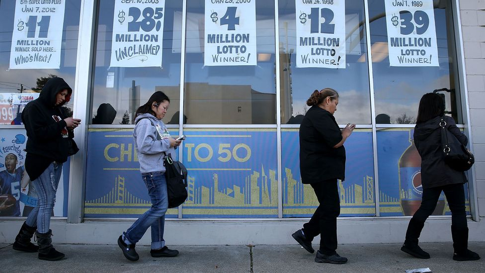 """""""Mo' money, mo' problems""""? A study suggests that lottery winners are no happier after hitting the jackpot – and some are even worse off (Credit: Getty Images)"""
