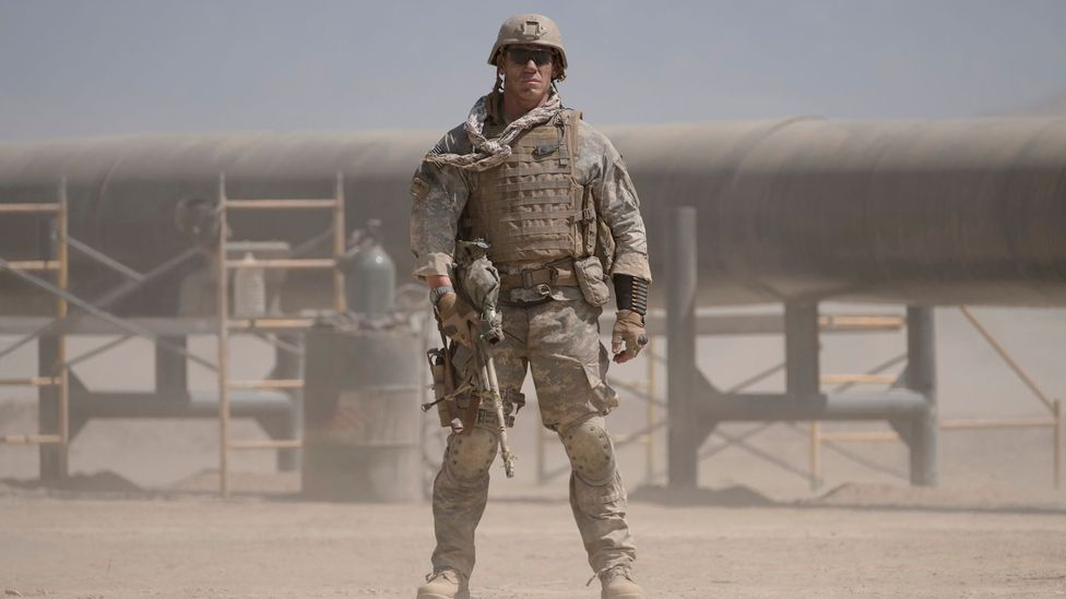 Doug Liman's new film The Wall is about two US soldiers who take cover behind a wall when pinned down by a sniper in Iraq (Credit: Roadside Attractions)