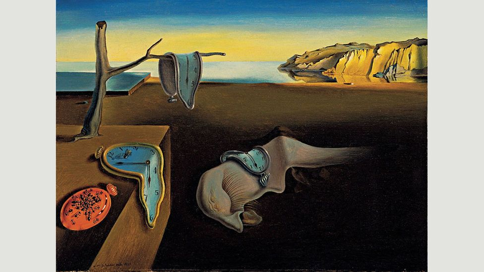 Salvador Dalí was inspired by an unctuous Camembert to create the clocks in Persistence of Memory (Credit: Wikipedia)