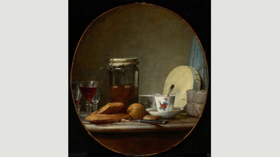 A century after the Dutch Masters, Jean-Baptiste-Siméon Chardin portrayed cheese in his uniquely refined manner, concentrating on its formal beauty (Credit: Alamy)