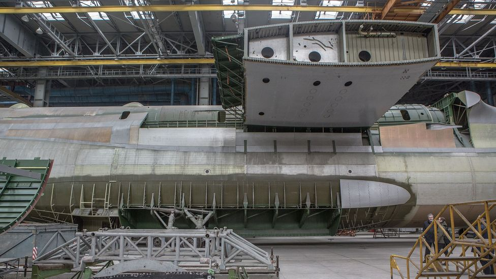 A second An-225 has been partly completed for some two decades (Credit: Anton Skyba)